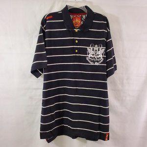 Stash House Signature Crest Golf Polo Shirt XL